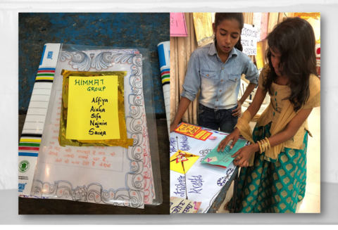 UNFPA India | These girls from Maharashtra are using 3D charts to
